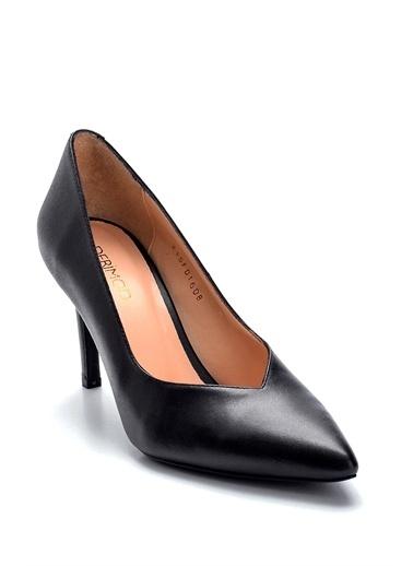 Derimod Kadın Stilettto (13137-05) Gova/Stiletto Siyah